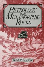 Petrology of the metamorphic rocks