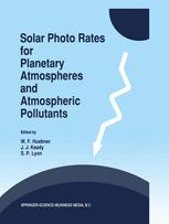 Solar Photo Rates for Planetary Atmospheres and Atmospheric Pollutants