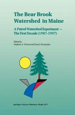 The Bear Brook Watershed in Maine: A Paired Watershed Experiment