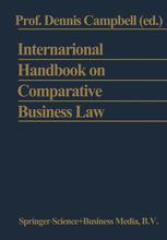 International Handbook on Comparative Business Law