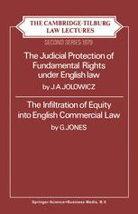The Cambridge-Tilburg Law Lectures