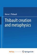 Creation and Metaphysics