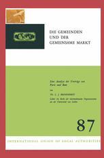 Die Gemeinden und der Gemeinsame Markt
