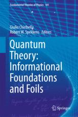 Quantum Theory: Informational Foundations and Foils