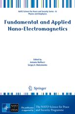 Fundamental and Applied Nano-Electromagnetics