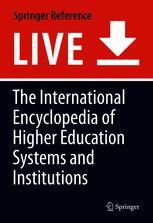 Encyclopedia of International Higher Education Systems and Institutions