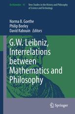 G.W. Leibniz, Interrelations between Mathematics and Philosophy