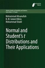 Normal and Student´s t Distributions and Their Applications