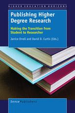 Publishing Higher Degree Research