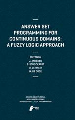 Answer Set Programming for Continuous Domains: A Fuzzy Logic Approach