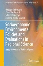 Socioeconomic Environmental Policies and Evaluations in Regional Science