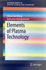 Elements of Plasma Technology