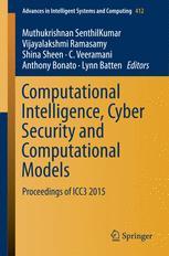 Computational Intelligence, Cyber Security and Computational Models