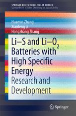 Li-S and Li-O2 Batteries with High Specific Energy