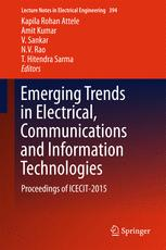Emerging Trends in Electrical, Communications and Information Technologies