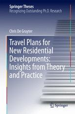 Travel Plans for New Residential Developments: Insights from Theory and Practice