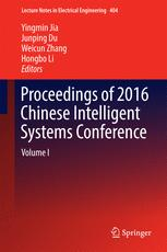 Proceedings of 2016 Chinese Intelligent Systems Conference
