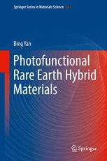 Photofunctional Rare Earth Hybrid Materials
