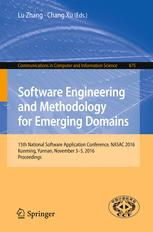 Software Engineering and Methodology for Emerging Domains