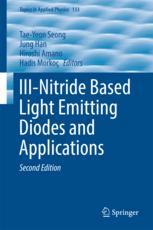 III-Nitride Based Light Emitting Diodes and Applications