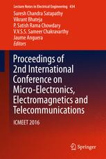 Proceedings of 2nd International Conference on Micro-Electronics, Electromagnetics and Telecommunications