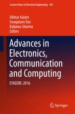 Advances in Electronics, Communication and Computing
