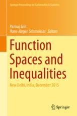 Function Spaces and Inequalities