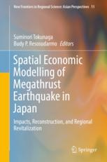 Spatial Economic Modelling of Megathrust Earthquake in Japan