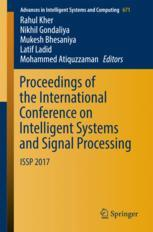 Proceedings of the International Conference on Intelligent Systems and Signal Processing