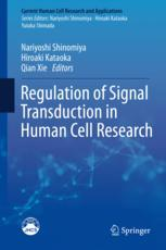 Regulation of Signal Transduction in Human Cell Research