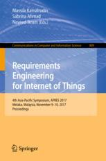 Requirements Engineering for Internet of Things