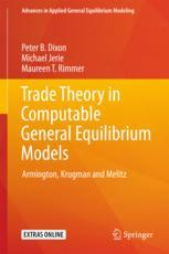 Trade Theory in Computable General Equilibrium Models