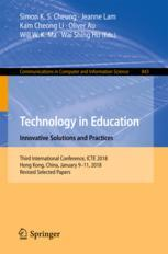 Technology in Education. Innovative Solutions and Practices