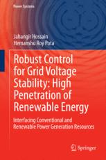 Robust Control for Grid Voltage Stability: High Penetration of Renewable Energy