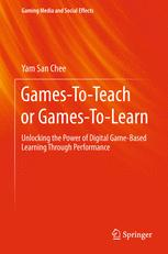 Games-To-Teach or Games-To-Learn