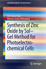 Synthesis of Zinc Oxide by Sol–Gel Method for Photoelectrochemical Cells