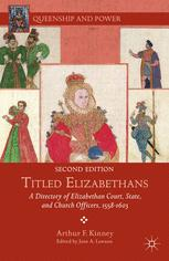 Titled Elizabethans : A Directory of Elizabethan Court, State, and Church Officers, 1558–1603