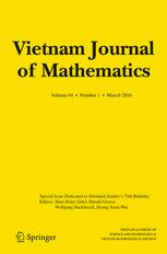 Vietnam Journal of Mathematics
