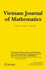 Vietnam Journal of Mathematics