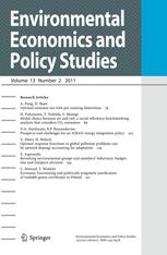 Environmental Economics and Policy Studies