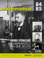 Lettera Matematica Pristem