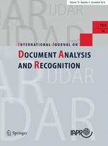 International Journal on Document Analysis and Recognition