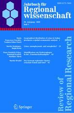 Jahrbuch für Regionalwissenschaft