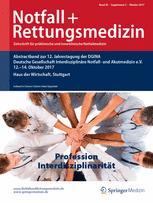 Notfall +  Rettungsmedizin 2/2017