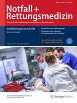 Notfall +  Rettungsmedizin 4/2017