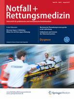 Notfall +  Rettungsmedizin 5/2017