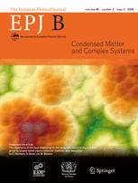 The European Physical Journal B
