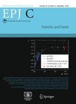 The European Physical Journal C