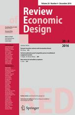 Review of Economic Design