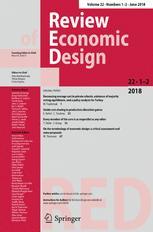 Review of Economic Design